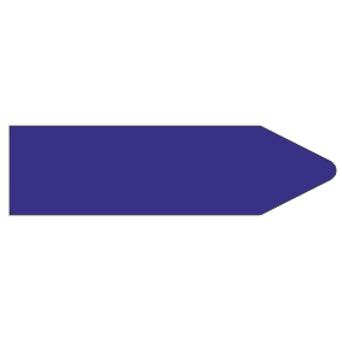 Стрелки для маркировки трубопроводов, фиолетовый