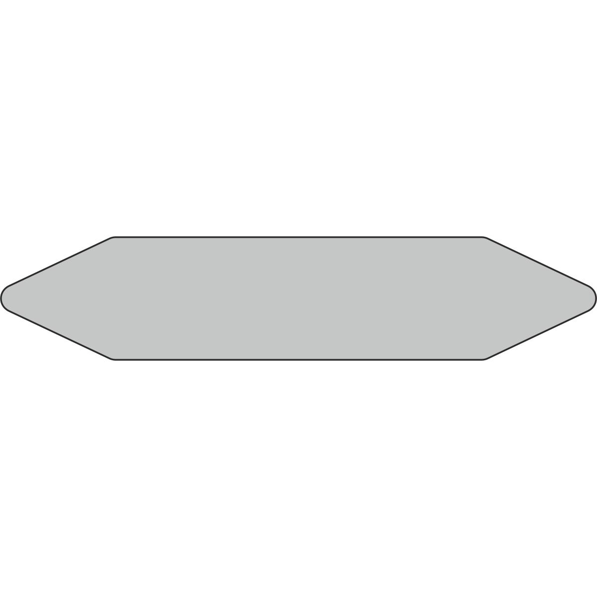Стрелки для маркировки трубопроводов, серый