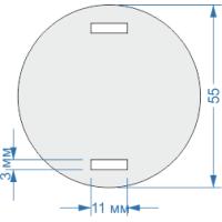Бирка кабельная маркировочная круглая
