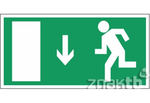 035 Знак Указатель двери эвакуационного выхода