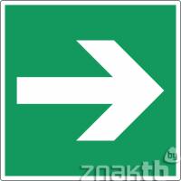 040 Знак Направление эвакуации код Е02-01