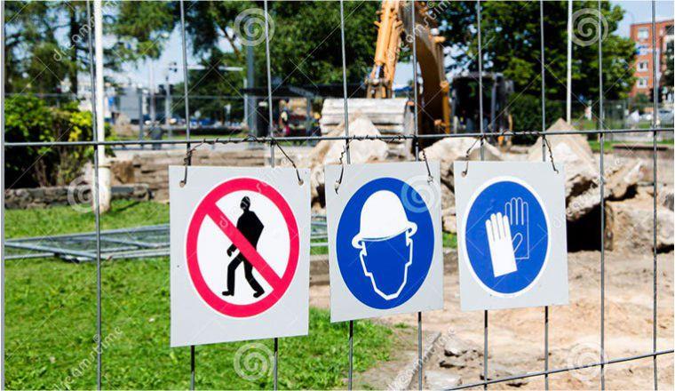 Добавлен новый раздел в знаках безопасности Знаки строительно...