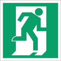 020 Знак Дверь эвакуационного выхода (открывающаяся с правой стороны)код Е01-02